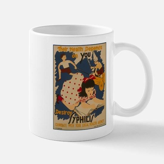 Vintage Syphilis Mug