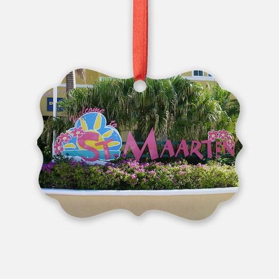 St. Maarten sign Ornament