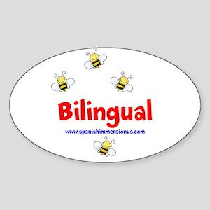 Bee Bilingual Sticker