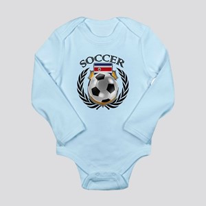 Costa Rica Soccer Fan Body Suit