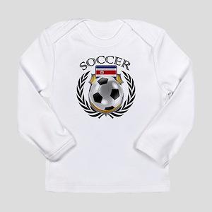 Costa Rica Soccer Fan Long Sleeve T-Shirt