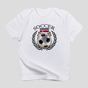 Costa Rica Soccer Fan Infant T-Shirt