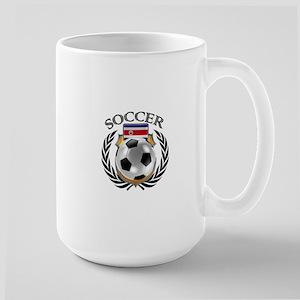 Costa Rica Soccer Fan Mugs
