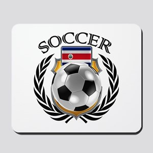 Costa Rica Soccer Fan Mousepad