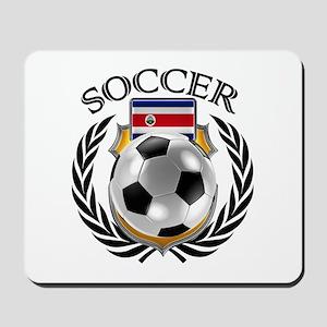 Costa Rica Soccer Fan Mousepad