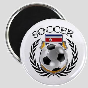 Costa Rica Soccer Fan Magnets