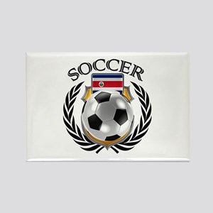 Costa Rica Soccer Fan Magnets