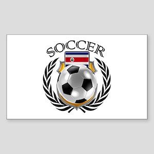 Costa Rica Soccer Fan Sticker