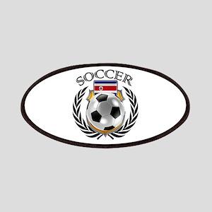 Costa Rica Soccer Fan Patch