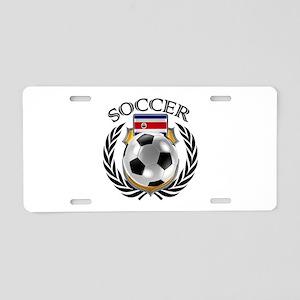 Costa Rica Soccer Fan Aluminum License Plate