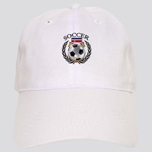 Costa Rica Soccer Fan Cap