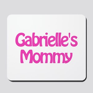 Gabrielle's Mommy Mousepad