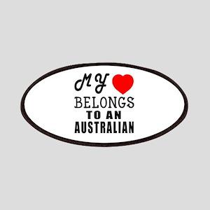 I Love Australian Patch