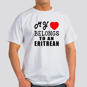 I Love Eritrean Light T-Shirt