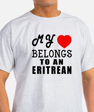 I Love Eritrean T-Shirt