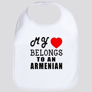 I Love Armenian Bib