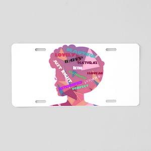 ILoveMe! Aluminum License Plate