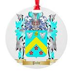 Pode Round Ornament
