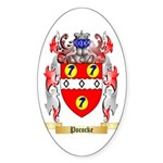 Pococke Sticker (Oval 10 pk)