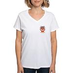 Pocock Women's V-Neck T-Shirt