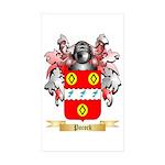 Pocock Sticker (Rectangle 50 pk)