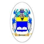 Pockson Sticker (Oval 50 pk)