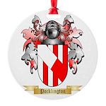 Pocklington Round Ornament