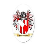 Pocklington Oval Car Magnet