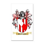 Pocklington Rectangle Car Magnet