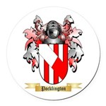 Pocklington Round Car Magnet