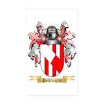 Pocklington Sticker (Rectangle 50 pk)