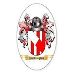 Pocklington Sticker (Oval 10 pk)