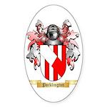 Pocklington Sticker (Oval 50 pk)