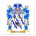 Pocklington 2 Square Car Magnet 3