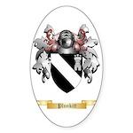 Plunkitt Sticker (Oval)