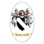 Plunkitt Sticker (Oval 50 pk)