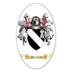 Plunkett Sticker (Oval 50 pk)