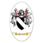 Plunket Sticker (Oval 50 pk)
