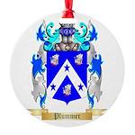 Plummer Round Ornament