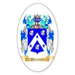 Plummer Sticker (Oval 10 pk)