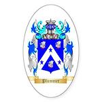 Plummer Sticker (Oval 50 pk)