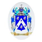Plummer Oval Ornament