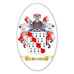 Plumly Sticker (Oval)