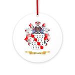 Plumly Round Ornament