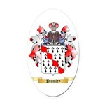 Plumley Oval Car Magnet