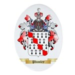 Plumley Oval Ornament
