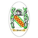 Plume Sticker (Oval 50 pk)