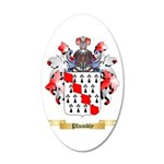 Plumbly 20x12 Oval Wall Decal