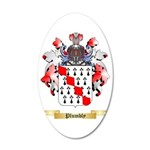 Plumbly 35x21 Oval Wall Decal