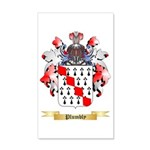 Plumbly 35x21 Wall Decal
